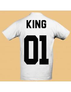 Camiseta King 1 San valentín