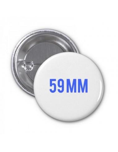 Chapa 59mm personalizada