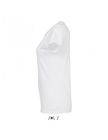 Camiseta blanca mujer personalizada