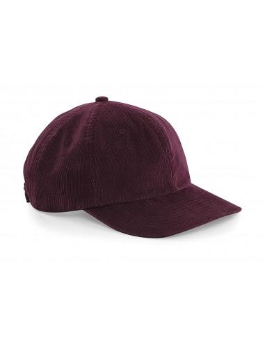 Gorra de Pana Heritage Granate