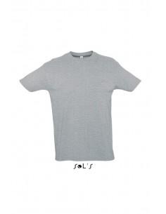 Camiseta Gris Jaspeado...